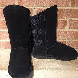 Bearpaw Shoes - BEARPAW Women's Boshie Winter Boot Black Sz 8